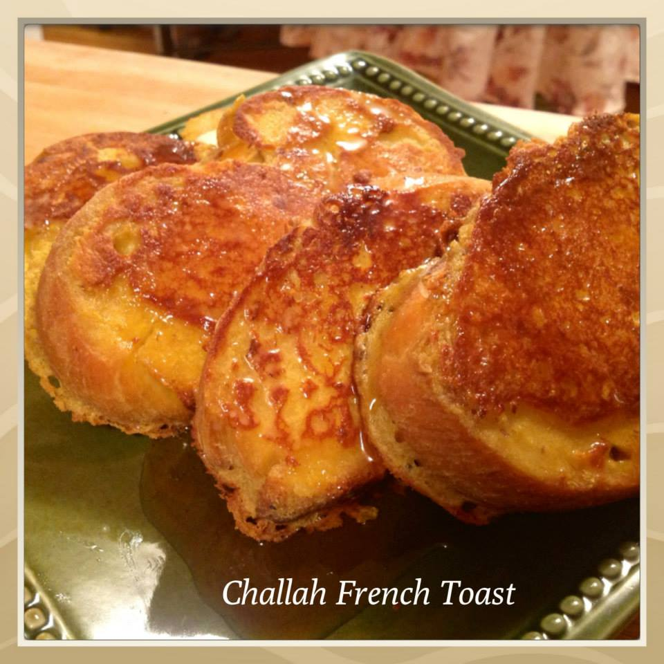 """VeganMoFo Day #5: Challah French Toast 