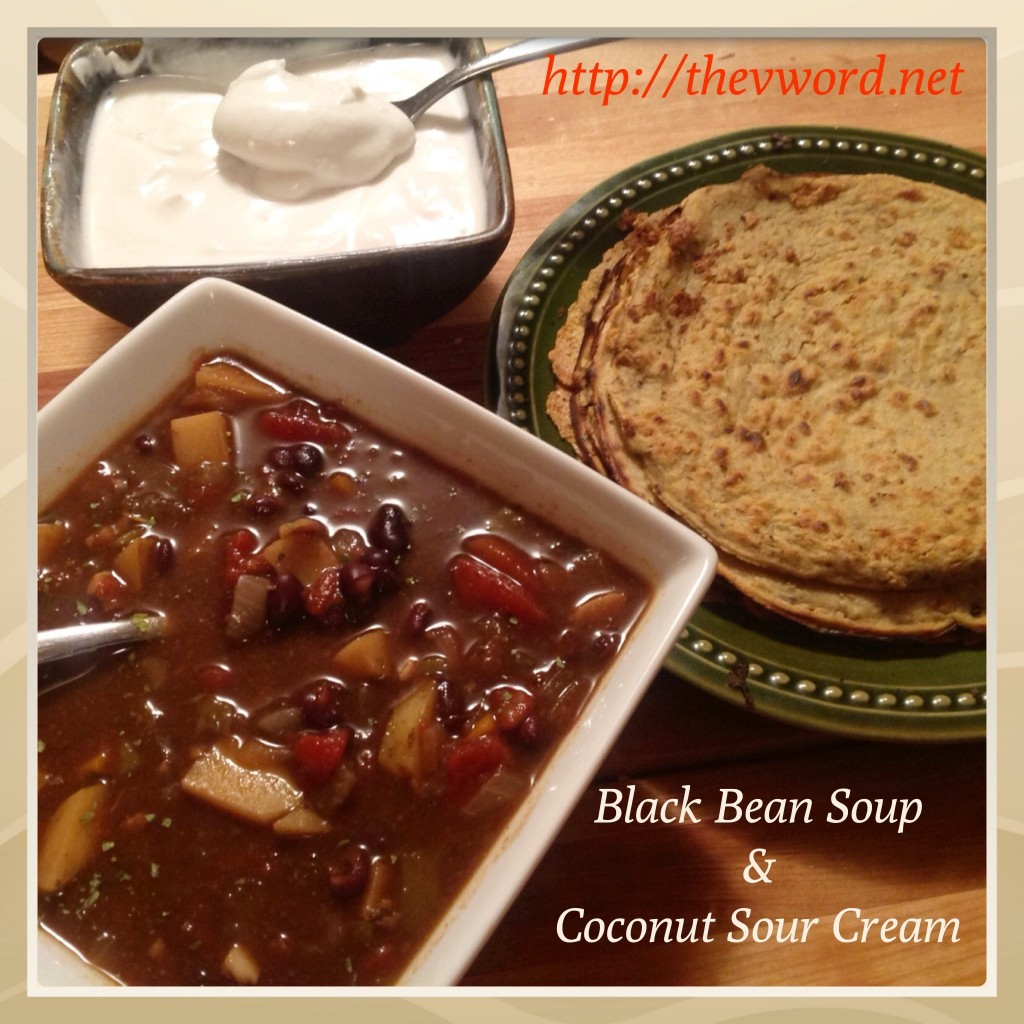 Black bean soup (1)