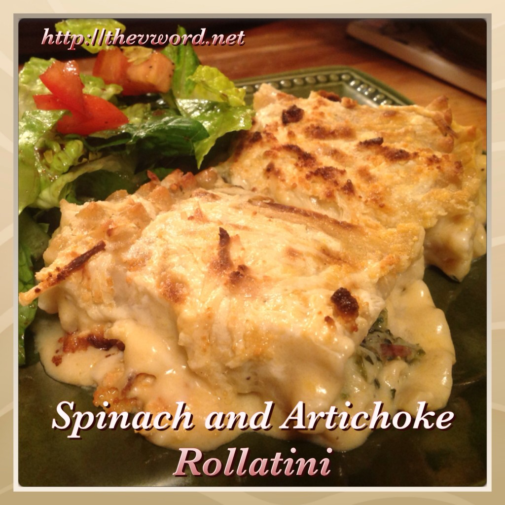 Spinat Artischocke rollatini (4)