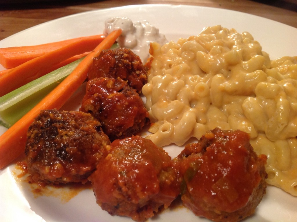 Buffalo Meatballs (10)