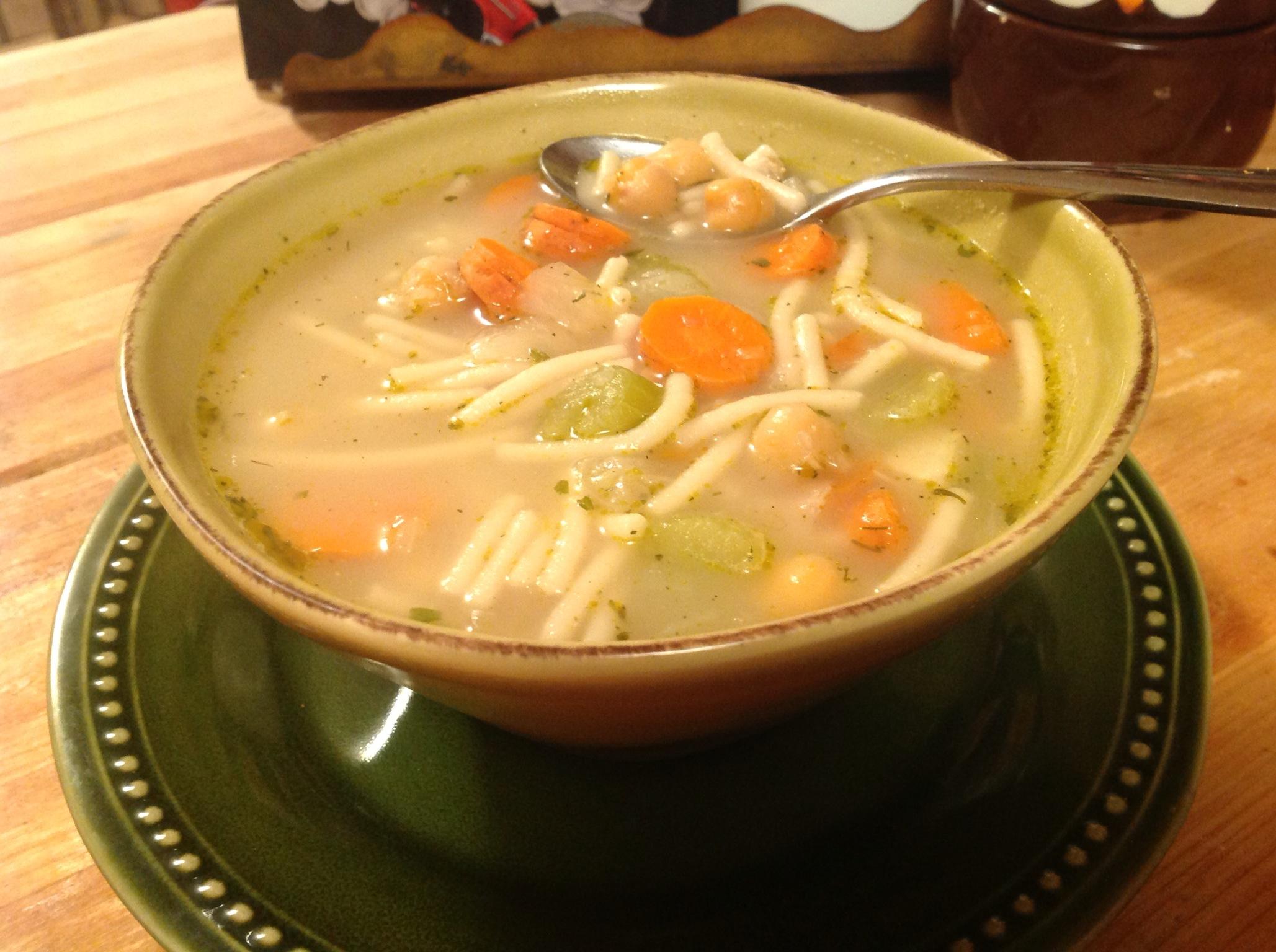 turkey noodle soup seitan ch eitan noodle soup noodles img 1436 seitan ...