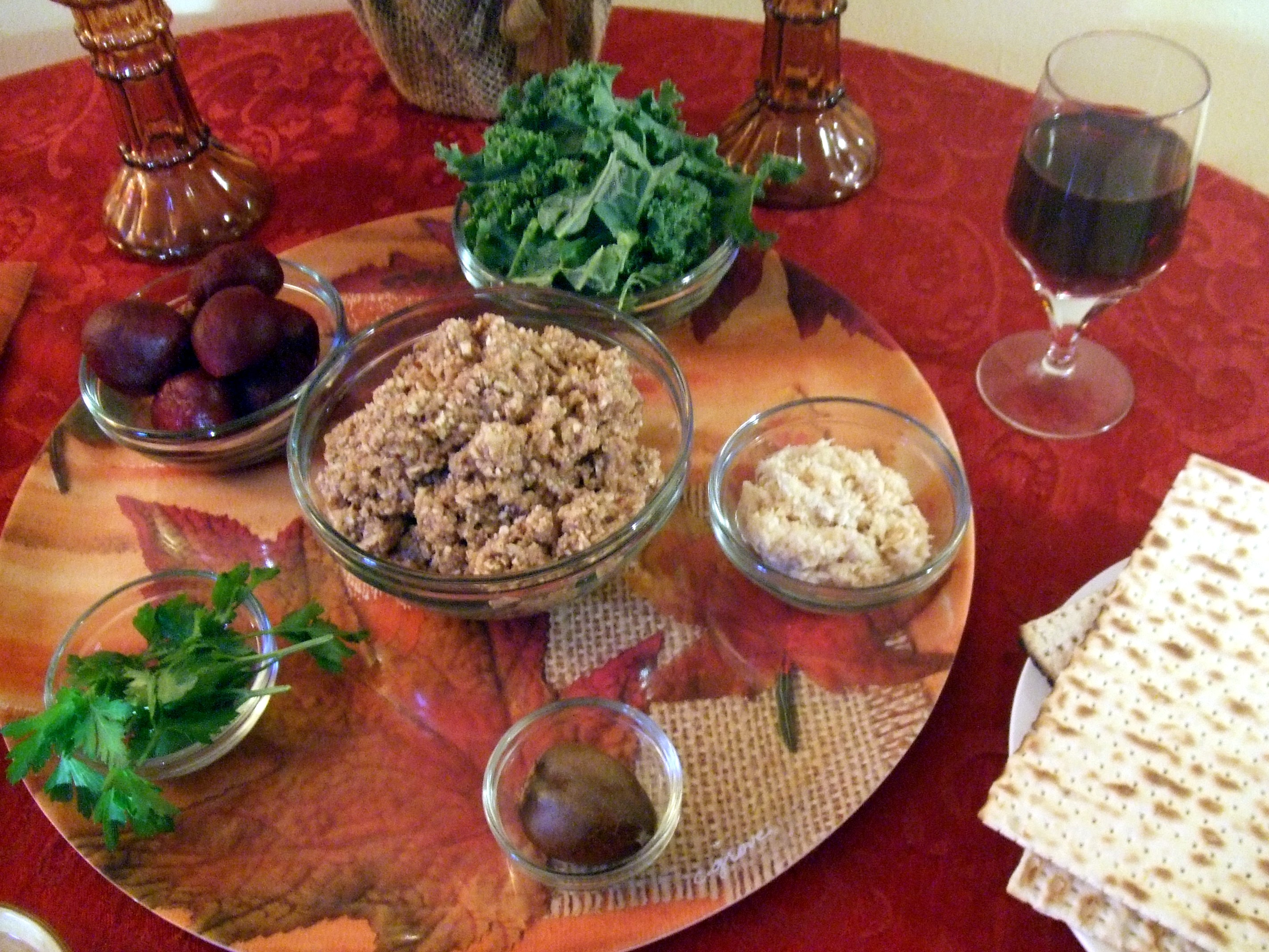 How to Make a Vegan Passover Seder Plate Plus a Recipe for Charoset ...