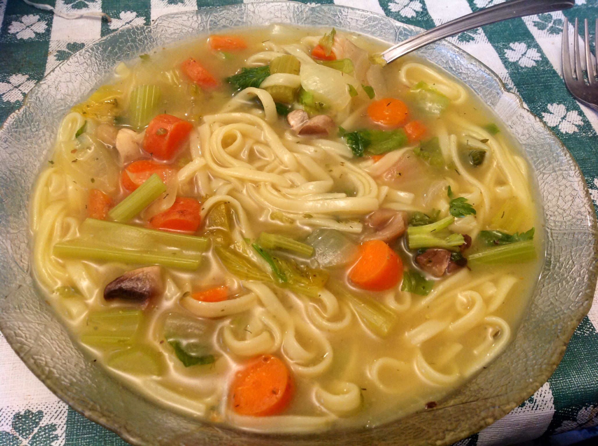 how to cook udon noodles soup