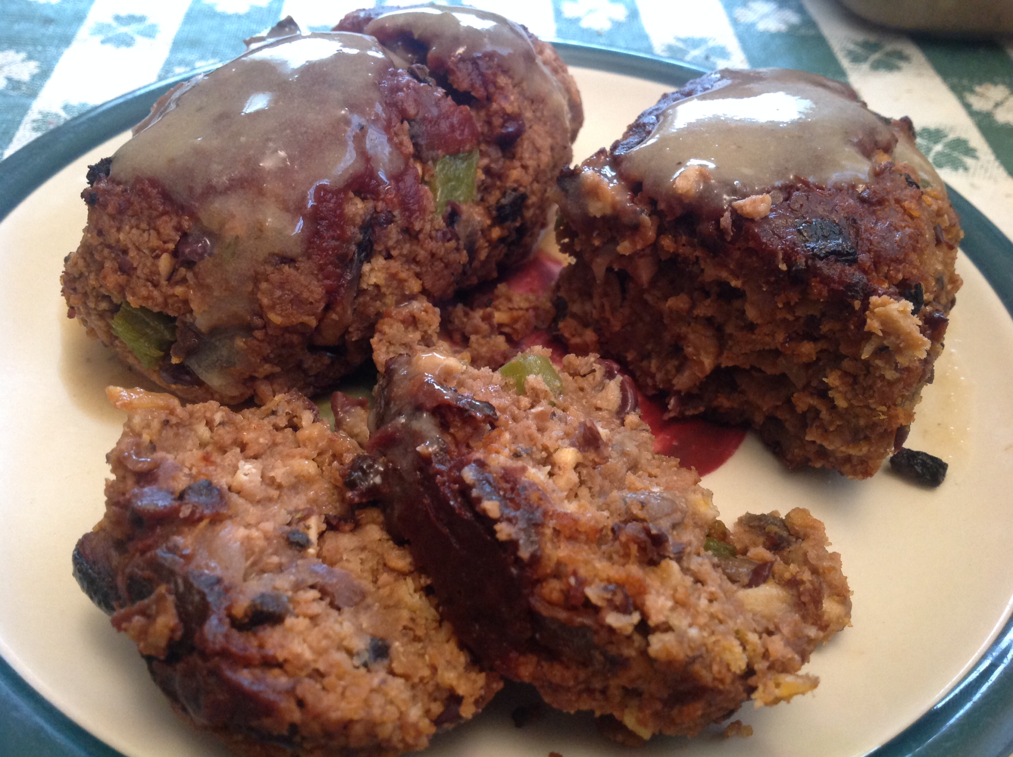 ... individual cherry almond crisps mini meatloaves mini meatloaves