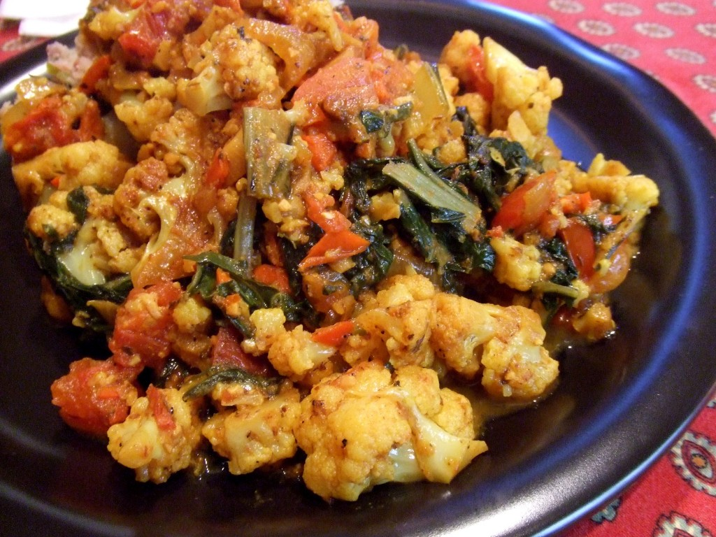 stewed cauliflower and chard (3)