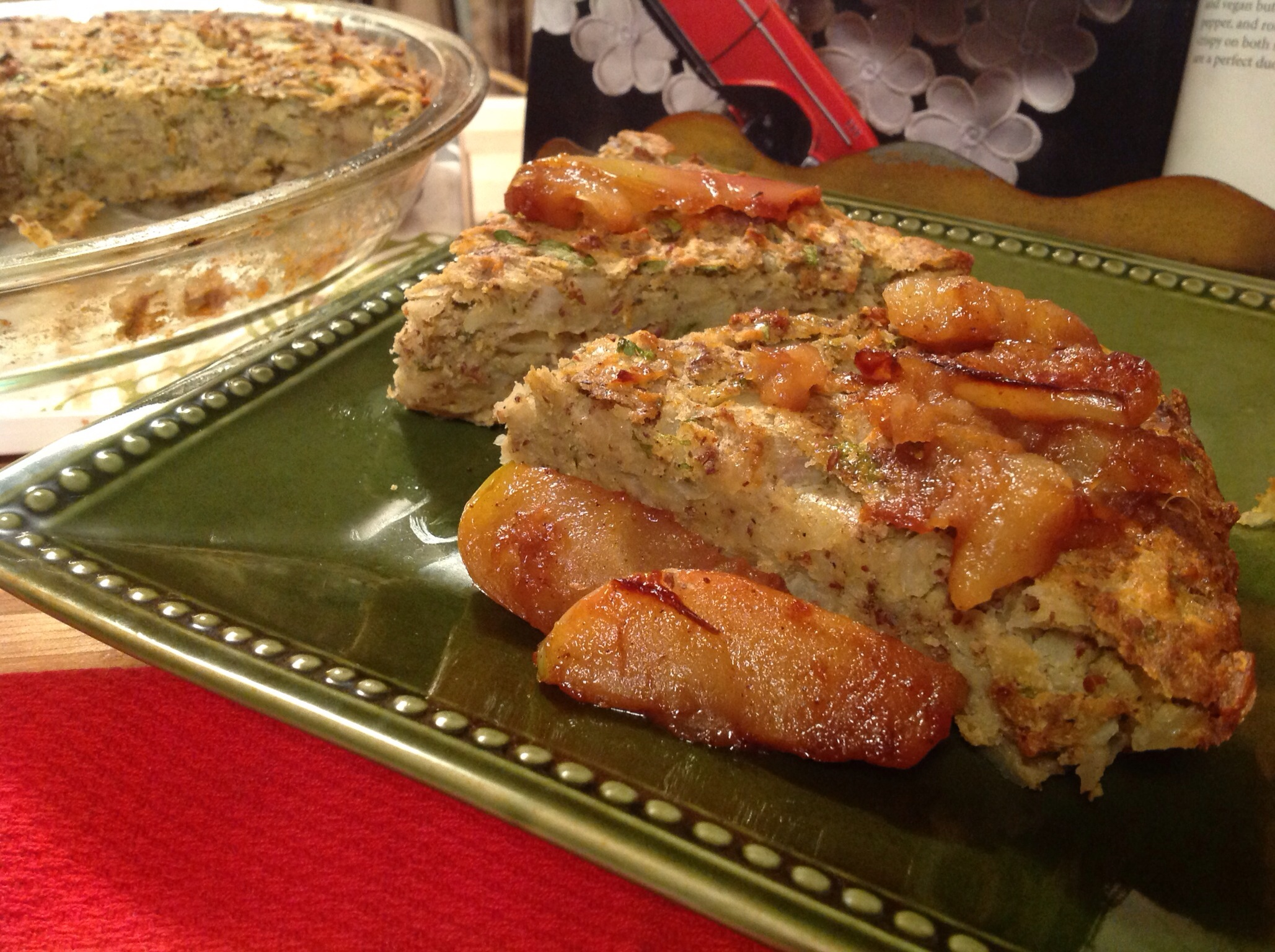 kugel with sauteed shallots recipes dishmaps potato kugel with sauteed ...