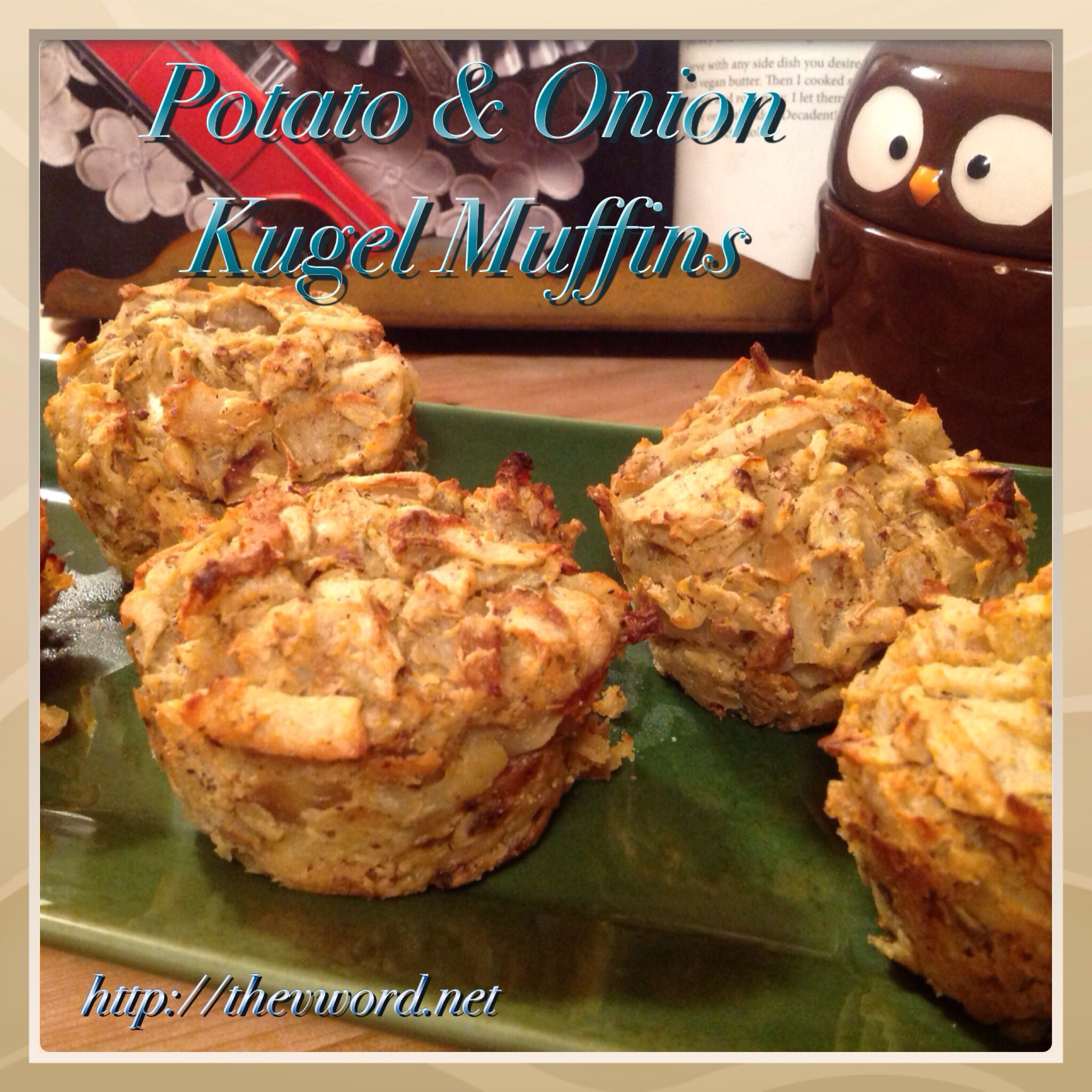 VeganMoFo #17: Potato and Onion Kugel with Sauteed Apples Done 2 Ways ...