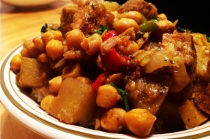 Jamaican-Curried-Tofu-with-Chickpeas-Vegan-460x306