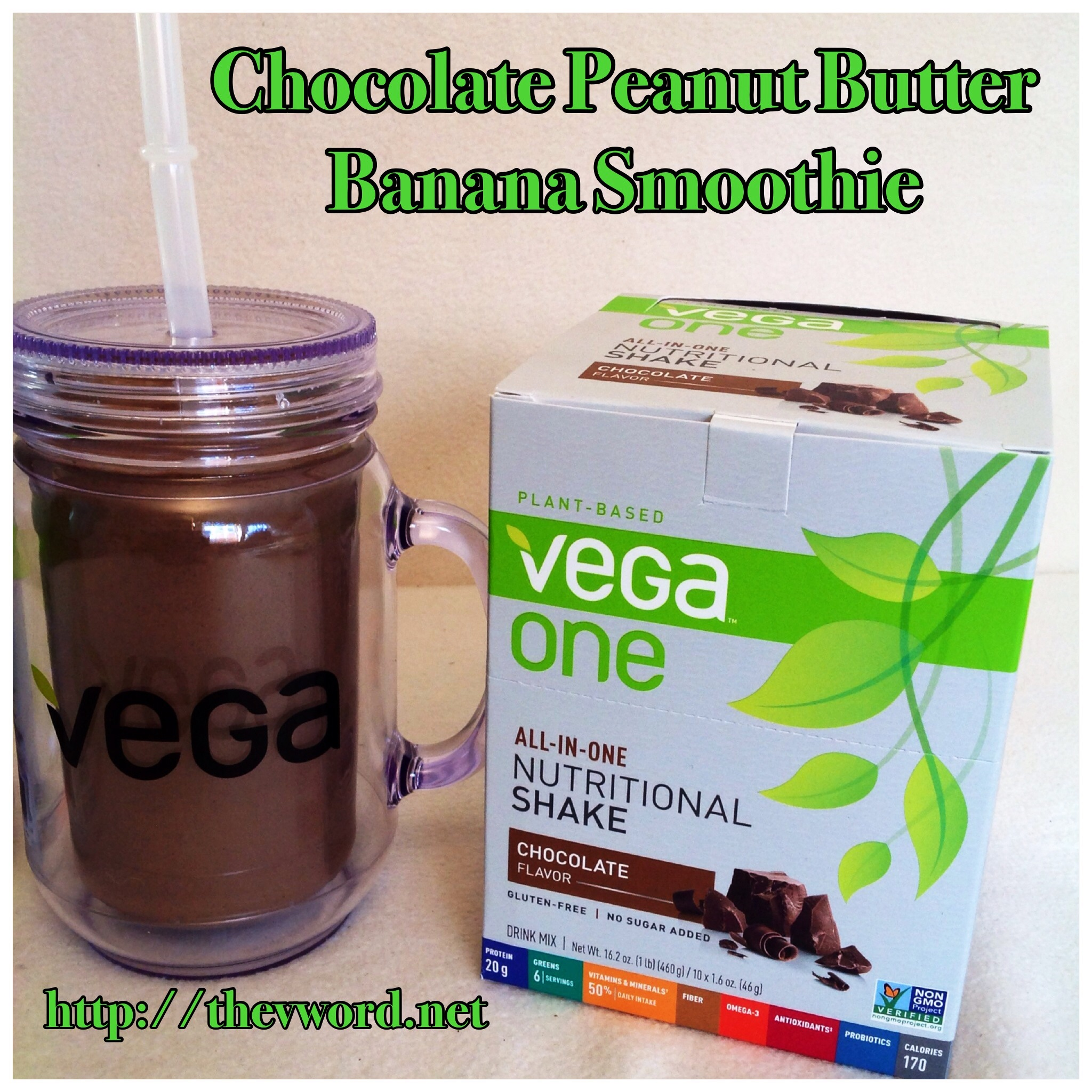 Product Review: The NEW Vega One and a Chocolate Peanut Butter ...
