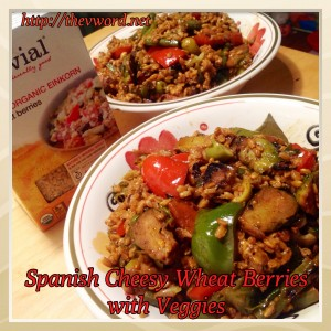 Wheatberries with veggies (2)