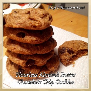 almond butter cookies (6)