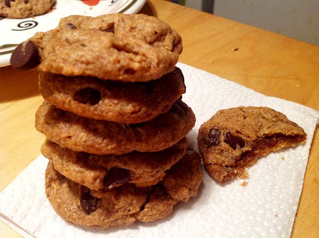 almond butter cookies (8)