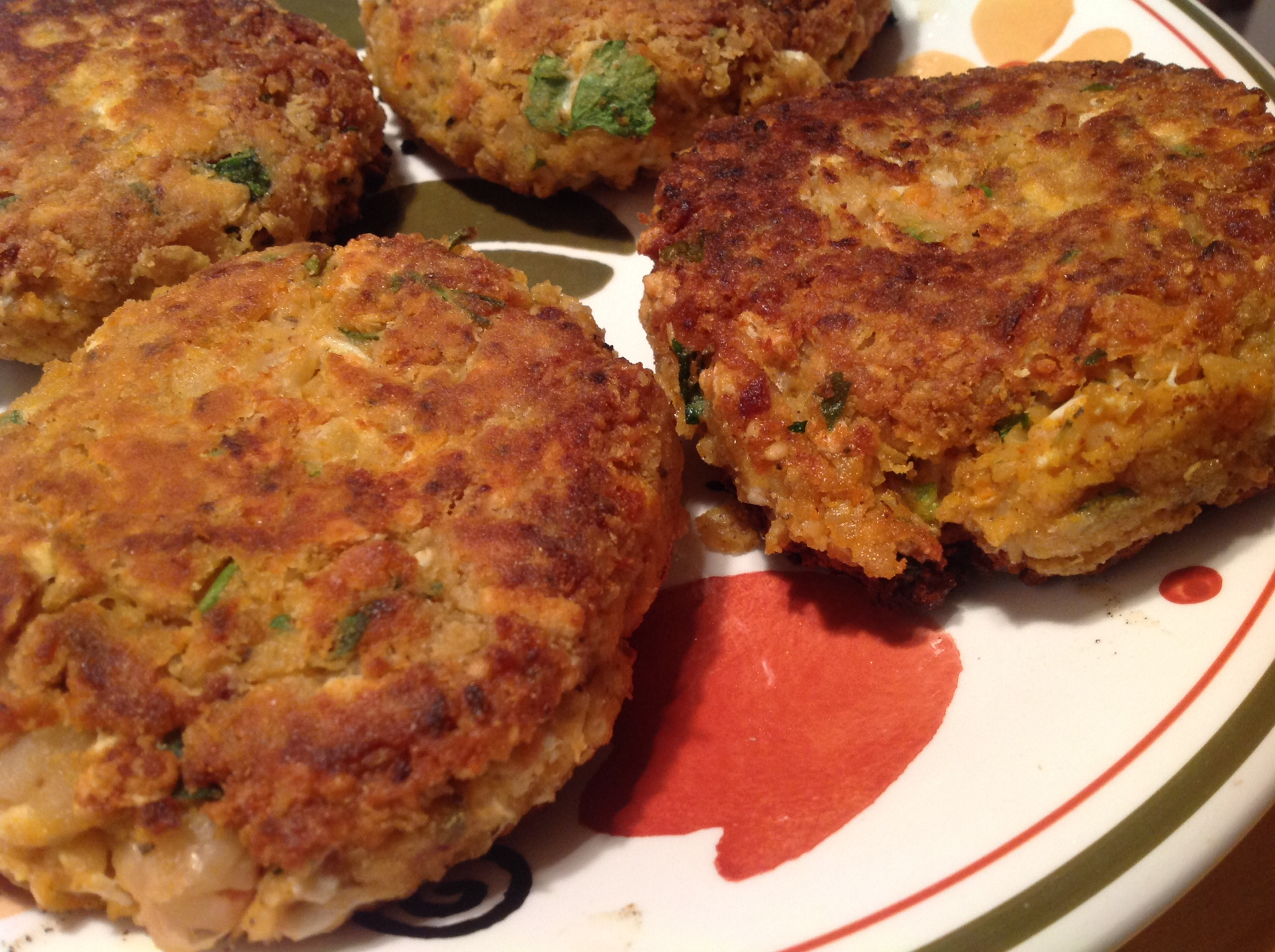 White Bean Burgers With Pesto, Tomato, And Roasted Eggplant Spread ...
