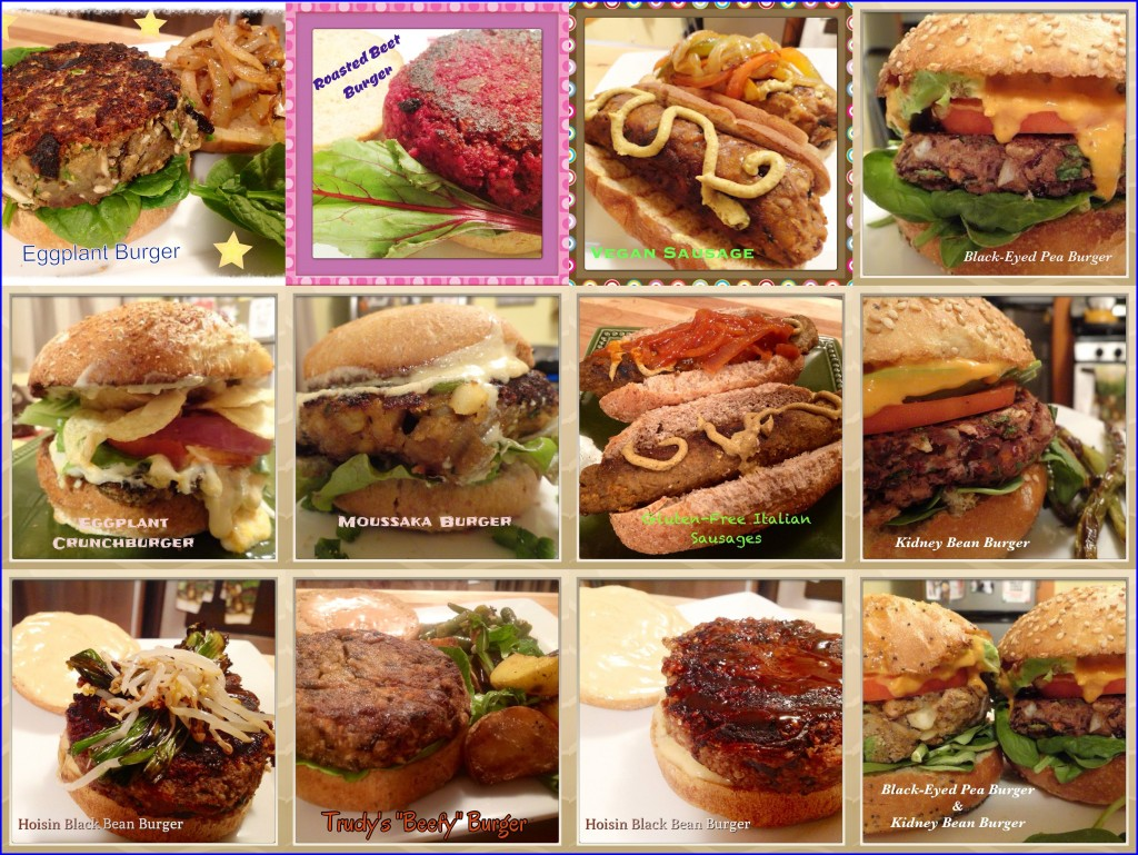 Burger collage
