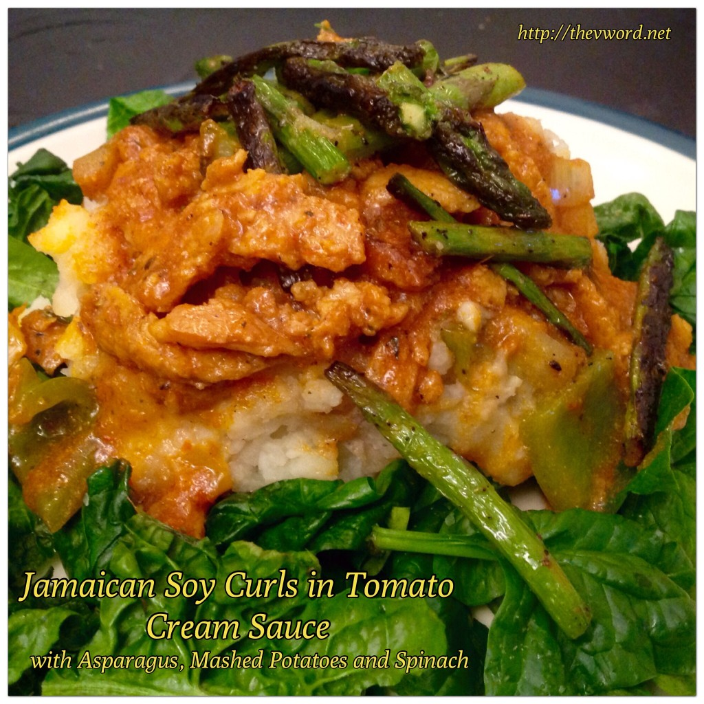 Jamaican Soy Curl Tomato Curry (1)