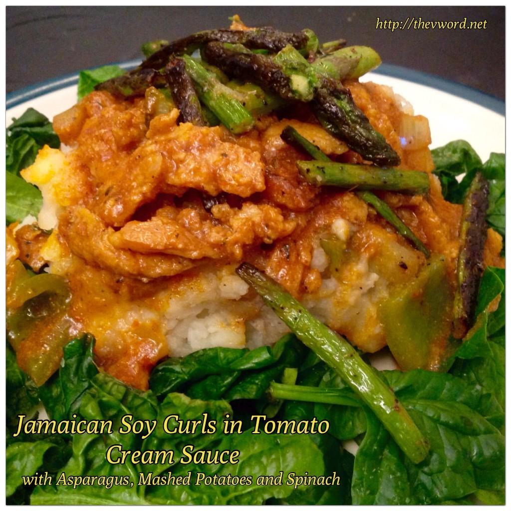 Giamaicana soia Curl pomodoro Curry (1)