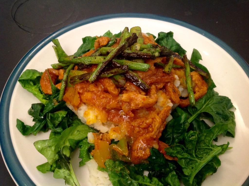Giamaicana soia Curl pomodoro Curry (10)