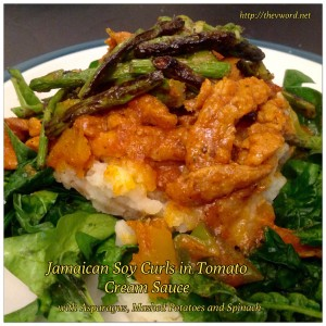 Giamaicana soia Curl pomodoro Curry (2)