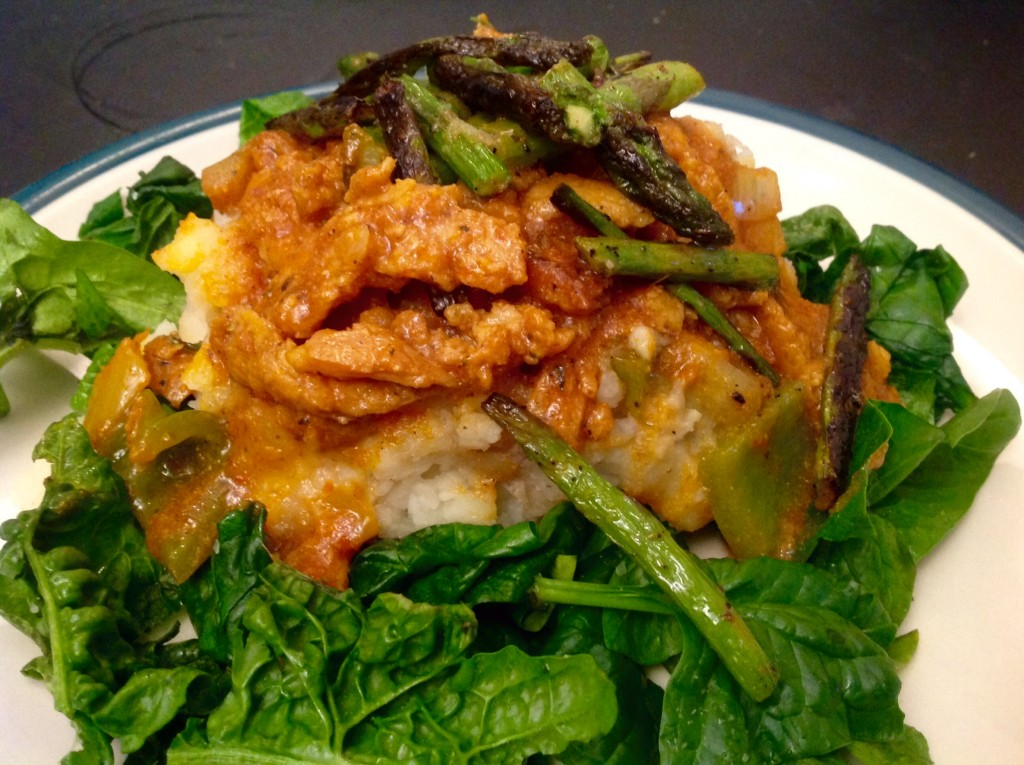 Giamaicana soia Curl pomodoro Curry (8)