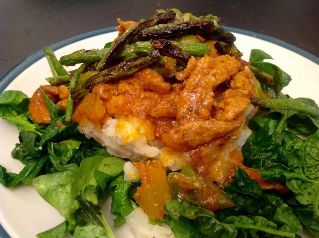 Giamaicana soia Curl pomodoro Curry (9)