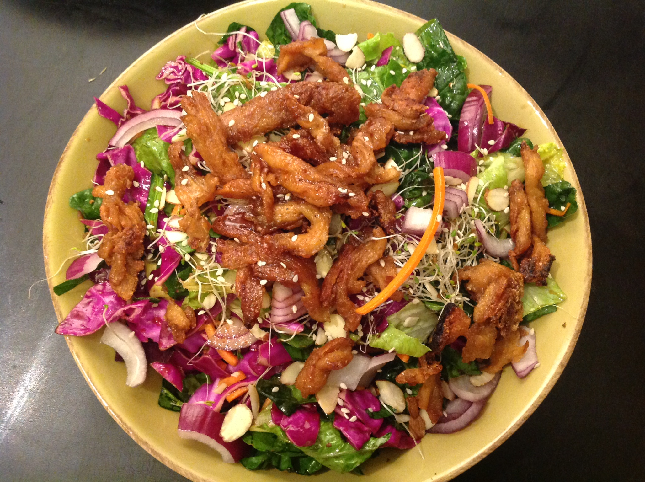 Asian Soy Curl Salad (79)