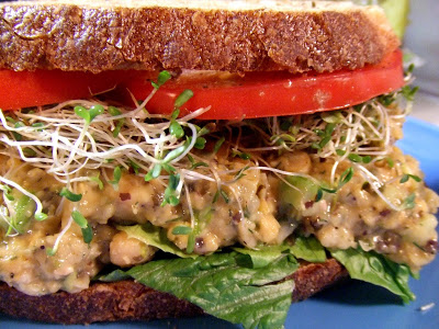 chickpea tuna sandwich besst