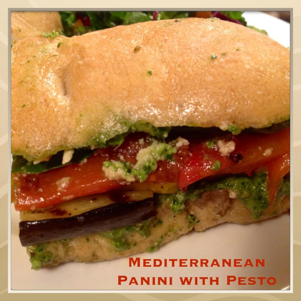 Mediterranean Panini with Pesto