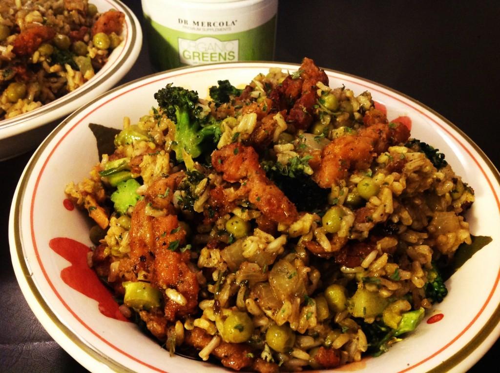 Grüner Reis (1)