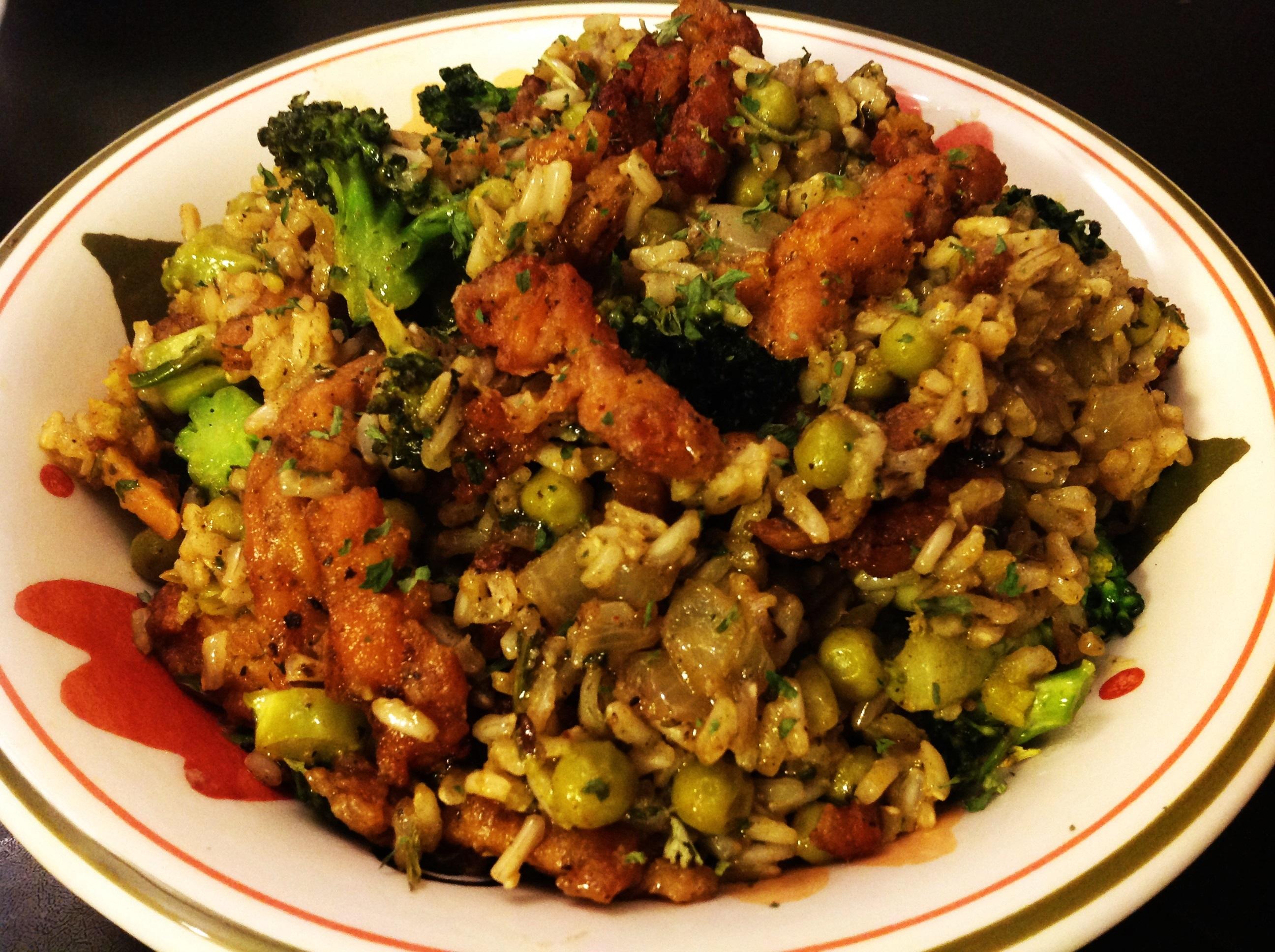 Grüner Reis (2)
