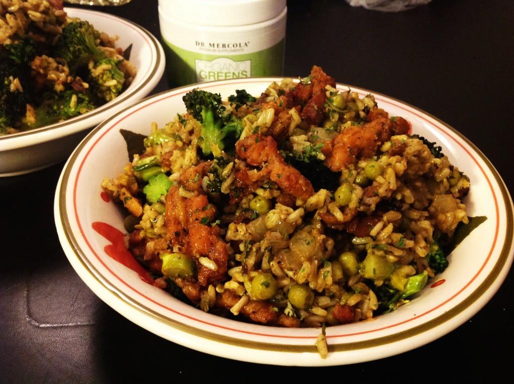 Grüner Reis (5)