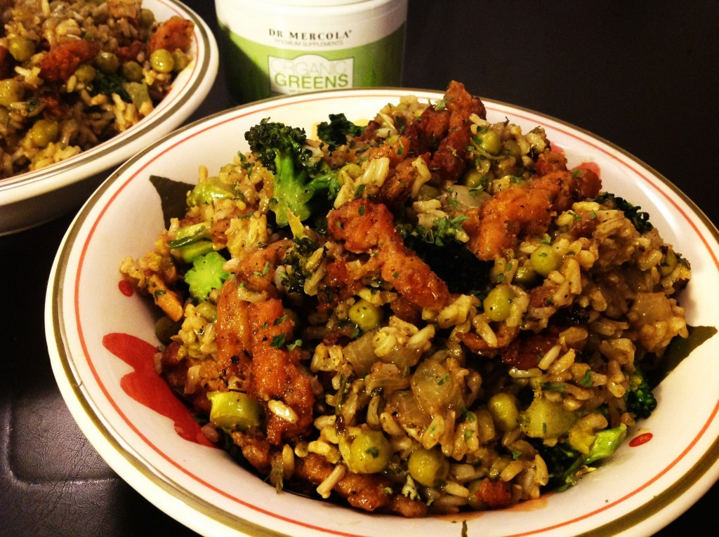 Grüner Reis (6)